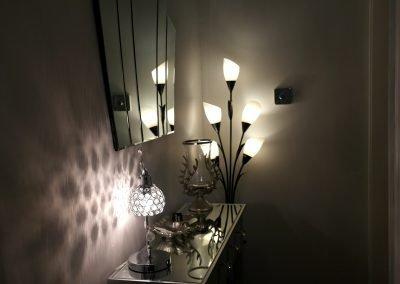 Inside apartment
